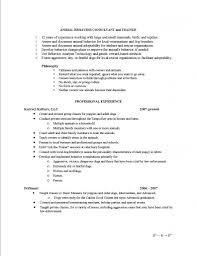 pet sitter resume new 2017 resume format and cv samples
