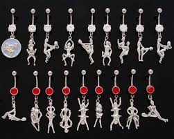 dangle belly ring