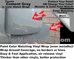 color match wrap oem paint code color matching vinyl wrap