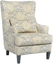 Ashley Furniture Accent Chairs Ashley Furniture Aramore Scalloped Wingback Accent Chair