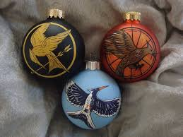 hunger trilogy ornaments may the odds be in your