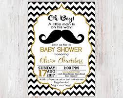 mustache baby shower invitations mustache baby shower invitation etsy