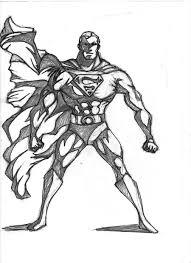 superman pencil sketch dave365 deviantart