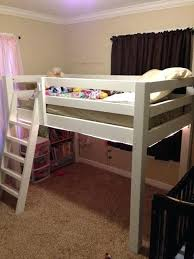 toddler loft bed image of twin loft bed with crib underneath