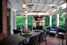 johns creek covered porch rustic elegance mosaic design build