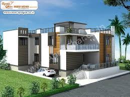 Duplex Home Design Plans 3d 5 Bedrooms Duplex House Design In 289m2 17m X 17m Click On This