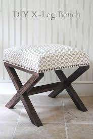 Diy Ottomans Diy Ottomans Diy Furniture Grey Linen Matching Bedhead Maybe