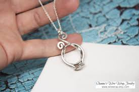 ring holder necklace jewelry images Sale magic ring holder necklace wedding engagement ring jpg