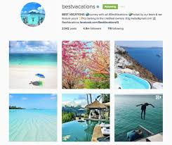 50 instagram accounts that will feature your epic travel photos
