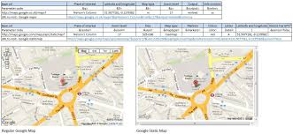 Draw A Route On Google Maps by Put A Google Map In Your Spreadsheet Ococarbon