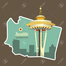 Washington State Detailed Map Stock by Map Of Washington State Royalty Free Cliparts Vectors And Stock