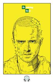Breaking Bad Poster Artof7r Breaking Bad Posters Jesse Pinkman Walter White 11x17
