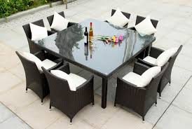 outdoor wicker dining table furniture interesting wicker chair cushions for inspiring outdoor