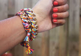 chain braided bracelet images Diy double wrapped braided chain bracelet jpg