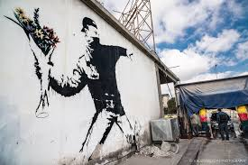 Banksy S Top 10 Most Creative And Controversial Nyc Works - war what is it good for absolutely nothin rcl