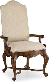 Upholstered Arm Chair Dining Hooker Furniture Dining Room Adagio Upholstered Arm Chair 5091 75500