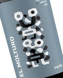 home design brand brand creation for a new modern and bold spanish red wine packaging