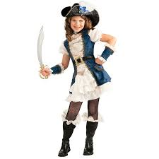 Halloween Costumes 1 Girls Blue Pirate Child Costume Buycostumes