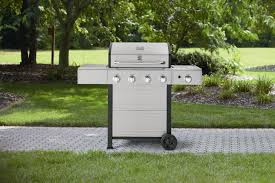 Backyard Grill 4 Burner by Kenmore Pg 40401sol 4 Burner Gas Grill With Side Burner And