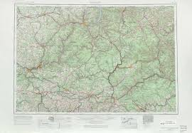 Eastern Pennsylvania Map by Warren Topographic Maps Pa Usgs Topo Quad 41078a1 At 1 250 000