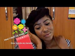 pictures of braid hairstyles in nigeria 6 ways to style hair braids nigeria fashion afr youtube