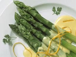 cuisiner asperge asperges en vinaigrette recette facile les entrées froides et