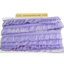ruffled ribbon purple ruffled ribbon trim buy ribbon ruffle ribbon trim ribbon