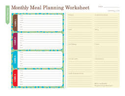 grocery list for thanksgiving dinner free printable meal planners