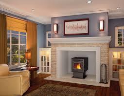 decorating elegant living room design with napoleon fireplaces