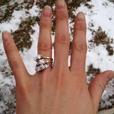 my wedding ring i chose my engagement ring