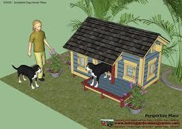 home garden plans dh303 dog house plans dog house design
