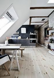 cuisine sous pente tout pour votre chambre mansardée en photos et vidéos chambre