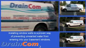 foundation repair u0026 window well drain installation by draincom com