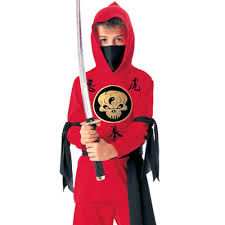 ninja halloween costume kids yin yang ninja kids costume