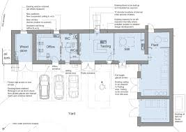 Architectural Floor Plan by Cb3 Design Architects Craft Gin Distillery