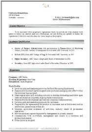 curriculum vitae resume samples download how to write an excellent