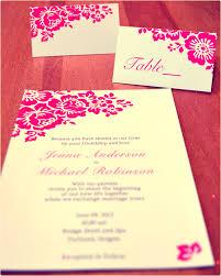 Pink Wedding Invitations Coprinted Blog Pink Wedding Invitations