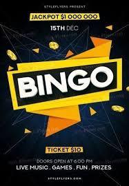 bingo psd flyer template 21295 styleflyers