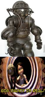 Big Daddy Meme - carmagnolle diving suit looks like a big daddy suit from bioshock