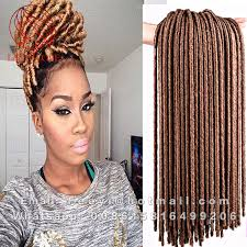 pictures of soft dred crotchet hairstyles cheap 2x faux locs crochet braids 18 synthetic soft dread