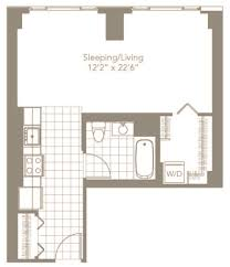 Studio Floor L Floor Plans 360 State Apartments The Bozzuto Bozzuto