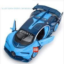 Simulation 1 32 Scale Diecast Super Sport Racing Cars Bugatti