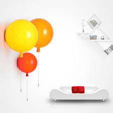 Bedroom Wall Lights With Switch Online Get Cheap Balloon Wall Light Aliexpress Com Alibaba Group
