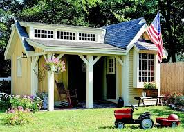 pretty shed project plan 501940 pretty porch shed