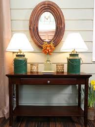 Narrow Foyer Table by Hall Table Decorating Ideas Home Design Ideas