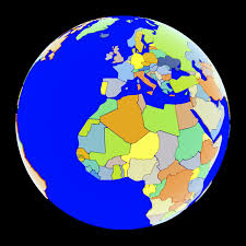 Earth Globe Map World by Max Globe Political Maps Earth