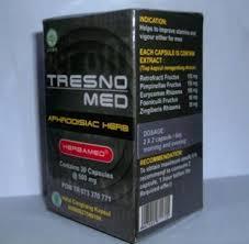 tresnomed 30 kapsul herbal stamina obat khusus pria obat