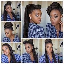 braided pinup hairstyles luxury micro braid pin up hairstyles life style info