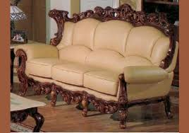 Victorian Sofa Set by Exquisite Victorian Style Leather Sofas