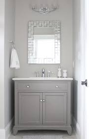 Black And Gray Bathroom Color Case Study Shades Of Gray Evolution Powder Room And Gray